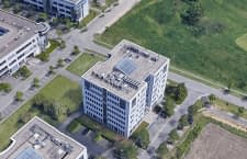 Screenshot von Google Earth - home&smart HQ in Karlsruhe