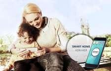 daheim Smart Home bequem per App von unterwegs steuern