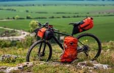 Fahrradtaschen helfen dabei Lasten gleichmäßig zu verteilen
