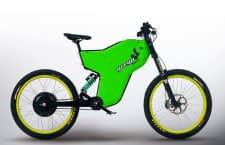 Das smarte E-Bike Greyp G12S als grüne Farbvariante