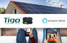 Nutzer einer Tigo Energy PV-Lösung können Leistungsdaten mit dem Alexa Skill Tigo abrufen