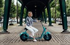 Der Scrooser E-Roller sorgt durch den Impuls-Antrieb für besonderes Fahrvergnügen