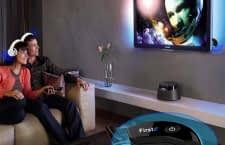 Ein Bluetooth Sender verbindet z. B. Kopfhörer mit einem Fernseher