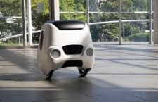 Mit dem Yape Transportroboter werden Lieferungen schnell und smart erledigt