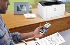 WLAN Laserdrucker wie der HP Laser 107w sind perfekt für den Heimeinsatz