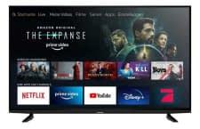 Die Modelle der Grundig Fire TV Edition verfügen über integriertes Amazon Fire TV Streaming und Alexa-Fernbedienung