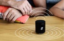 Der portable Lautsprecher Cisor verteilt den Sound gleichmäßig