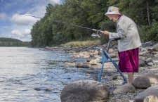 Senioren sind mit ModEst (Rollator-Modul zur Haltungs-Erkennung und Sturz-Prävention) sicher