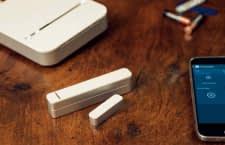 Türkontakte mit Magnet bestehen aus zwei Teilen und benötigen eine Smart Home Zentrale