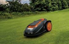 Die Mähroboter Worx Landroid M1000i und M1000 schaffen Steigungen von bis zu 35 Prozent