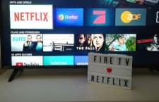 Netflix ist auch über Amazon Fire TV Geräte verfügbar