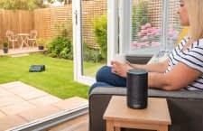 Wer Bosch Indego S+ 350 mit einem Echo Lautsprecher vernetzt, kann ihn per Sprachbefehl steuern