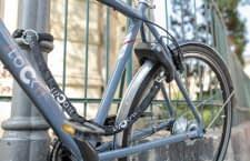 Radfahrern lästiges Auf- und Abschließen ersparen soll das smarte I LOCK IT Fahrradschloss