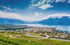 Unsere Gewinner erhalten ein Zimmer mit Blick auf die Alpen und den Genfer See