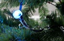Life Hack: Statt Lichterkette LIGHTIFY GardenSpot Mini am Christbaum