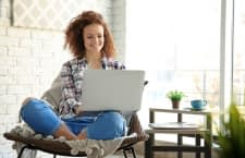 Ein Laptop ermöglicht besonders flexibles arbeiten