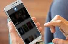 Abbildung der MindMeld Sprachsteuerung auf einem Smartphone