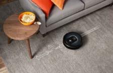 Hartböden mit Teppichen und Chips stellen für den iRobot Roomba 981 Saugroboter kein Problem dar